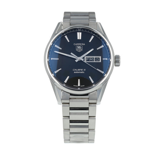 Pre-Owned TAG Heuer Carrera Day-Date Mens Watch WAR201A
