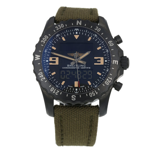 Pre-Owned Breitling Chronospace Military Mens Watch M78366