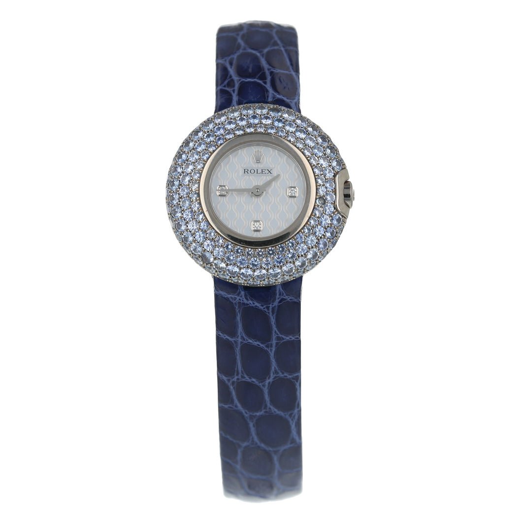Pre-Owned Rolex Cellini Orchid Ladies Watch 6201