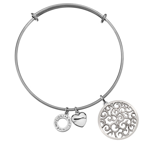 Emozioni Winding Path Coin and Bangle Set