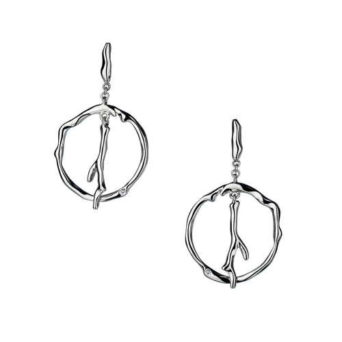 Ionia Halo Earrings