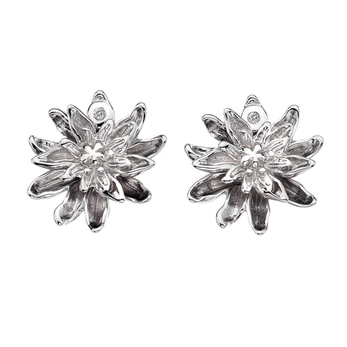 Diamonds for all Seasons Dahlia Earrings