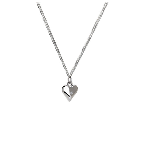 Love Token Silver Charm Pendant - Online Exclusive
