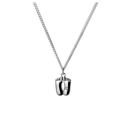 Pitter Patter Silver Charm Pendant - Online Exclusive