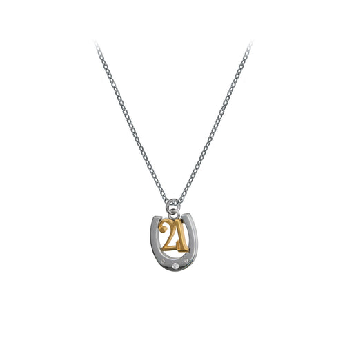 21 Today Silver Charm Pendant - Online Exclusive