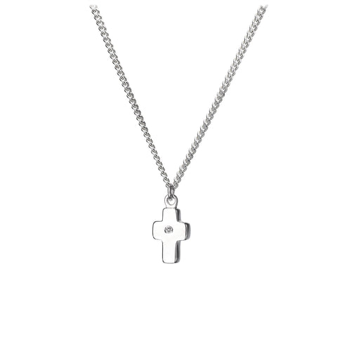 Keeping the Faith Silver Charm Pendant - Online Exclusive