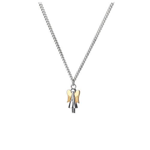 Guardian Angel Silver Charm Pendant - Online Exclusive