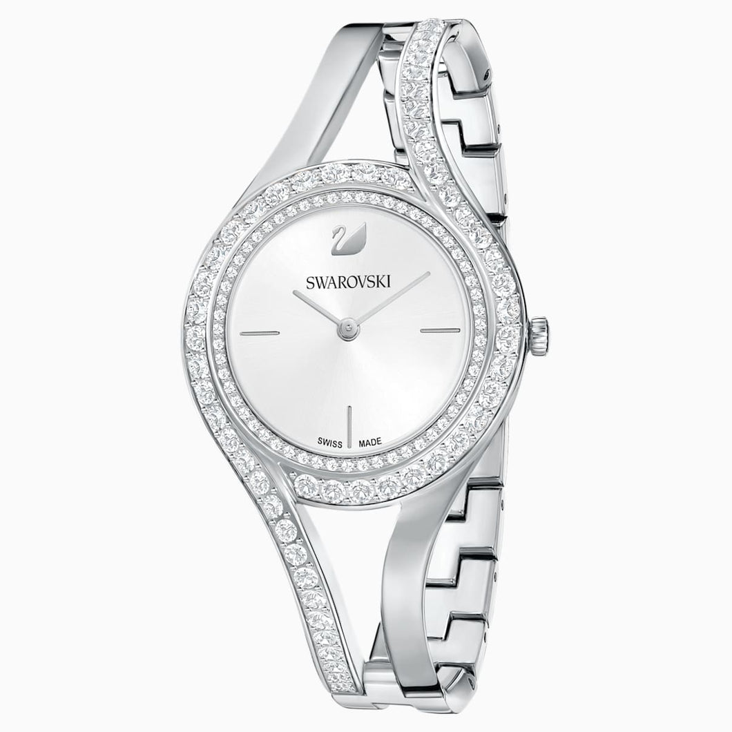Eternal Watch, Metal bracelet, White, Stainless steel