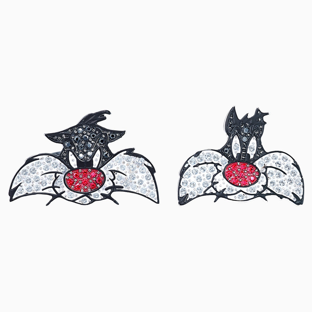 Looney Tunes Sylvester Cufflinks, Multi-colored, Rhodium plated