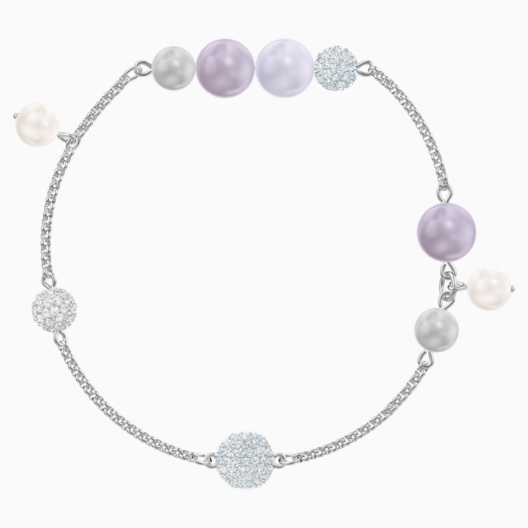 Swarovski Remix Collection Pearl Strand, Multi-coloured, Rhodium plated