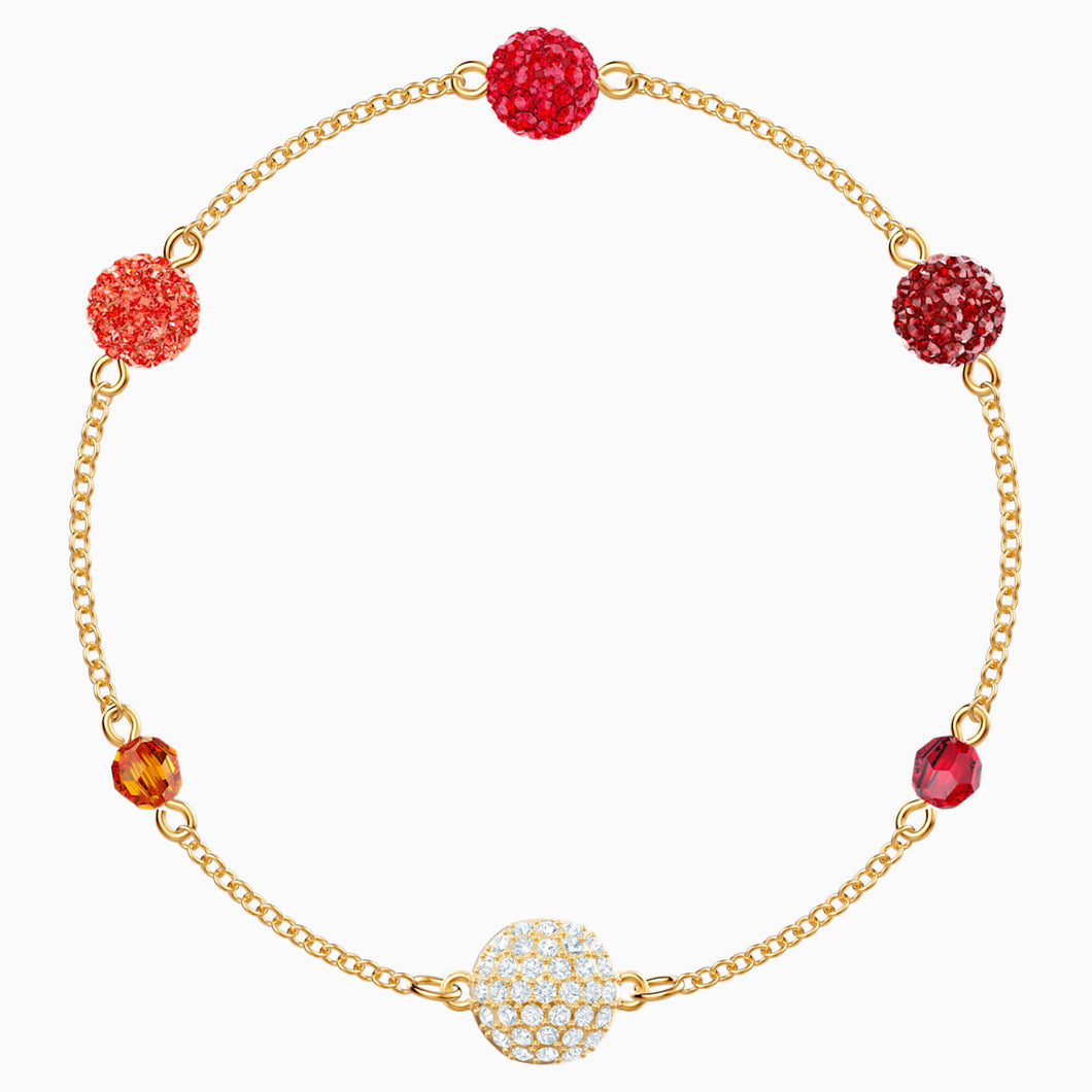 Swarovski Remix Collection Pop Strand, Multi-coloured, Gold-tone plated