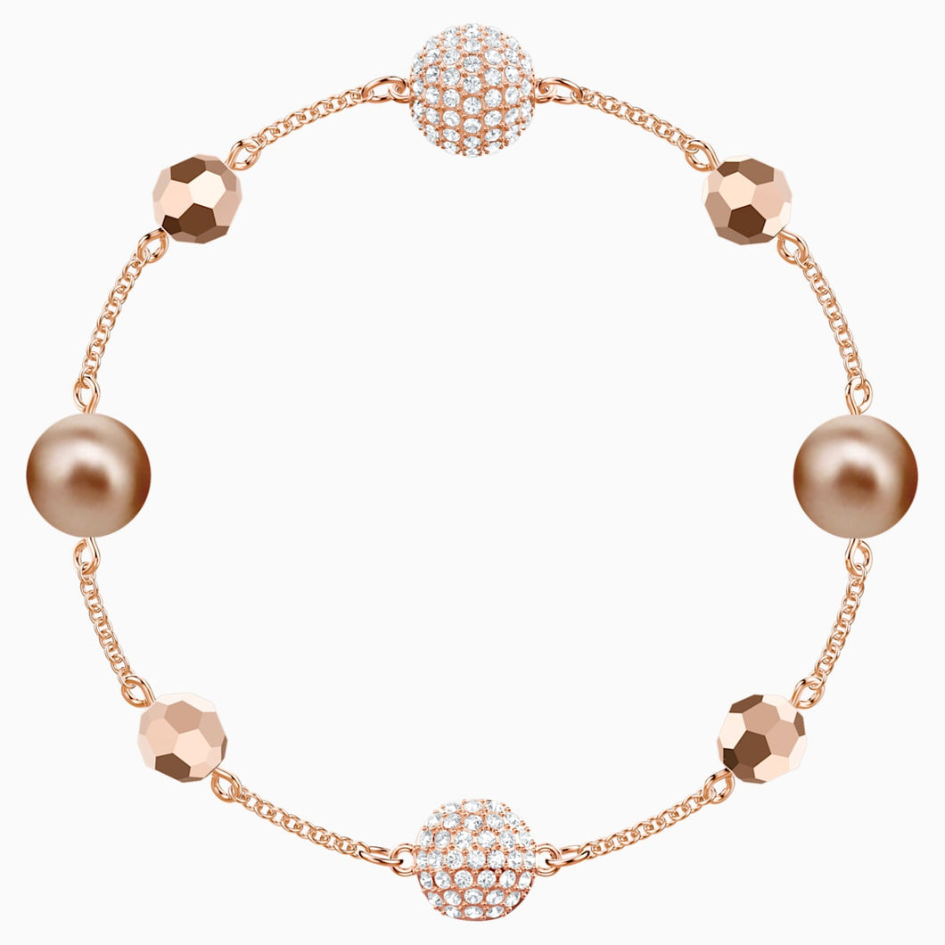 Swarovski Remix Collection Strand, Multi-coloured, Rose-gold tone plated