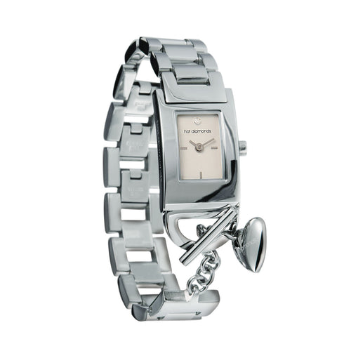 Captivate White Dial Watch