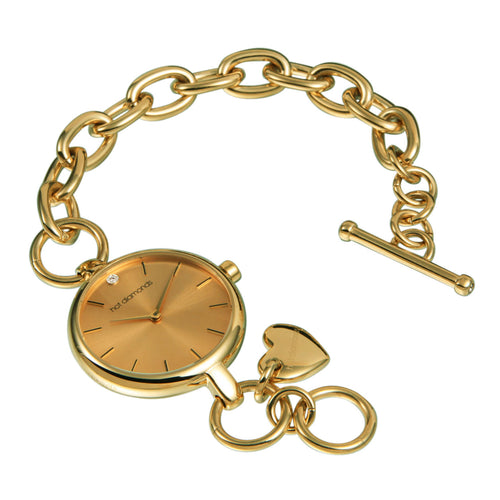 Simply Charming Watch - Gold Dial