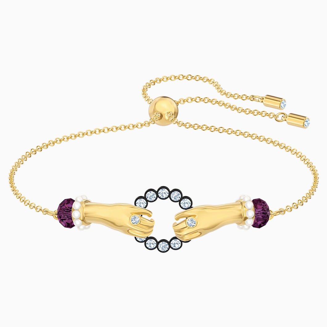 Tarot Magic Bracelet, Multi-coloured, Gold-tone plated