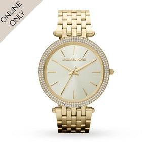 Michael Kors Ladies Gold Plated Watch
