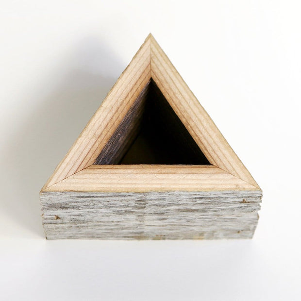 Succulent Box Planter - Small Triangle