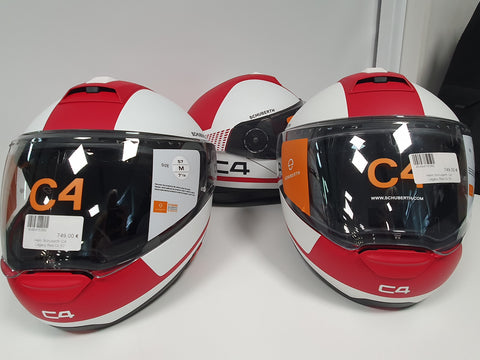 Helm Schuberth C4 Legacy Red