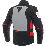 Damen Jacke Dainese Carve Master 2 black/frost grey-red
