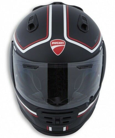 Arai Ducati Helm red line ECE Rebel