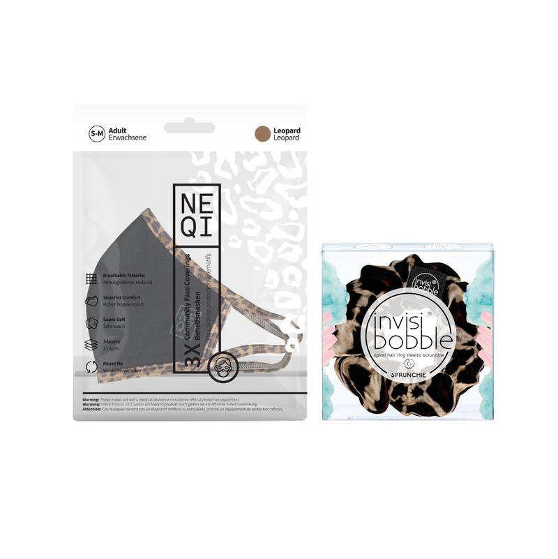 Invisibobble® x NEQI Face Mask LEO Duo Bundle