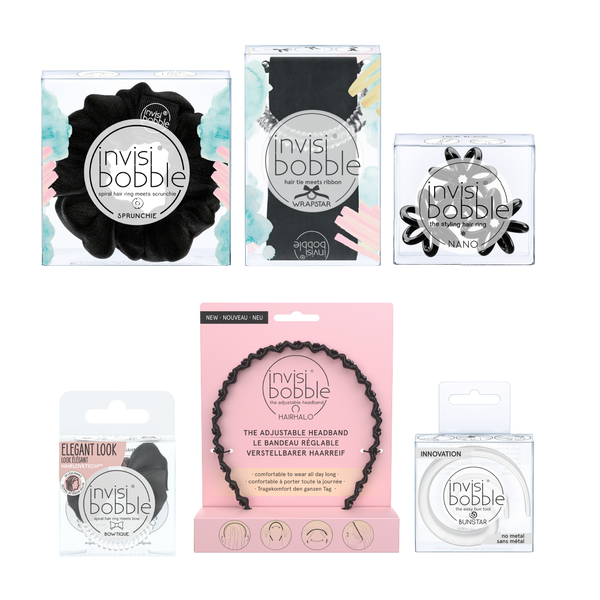 invisibobble® - Black Halloween Bundle