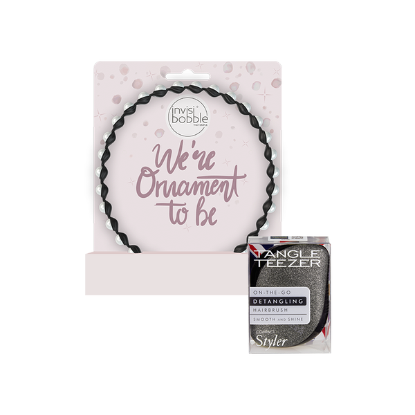 Tangle Teezer x invisibobble® – Black Gala Holiday Set