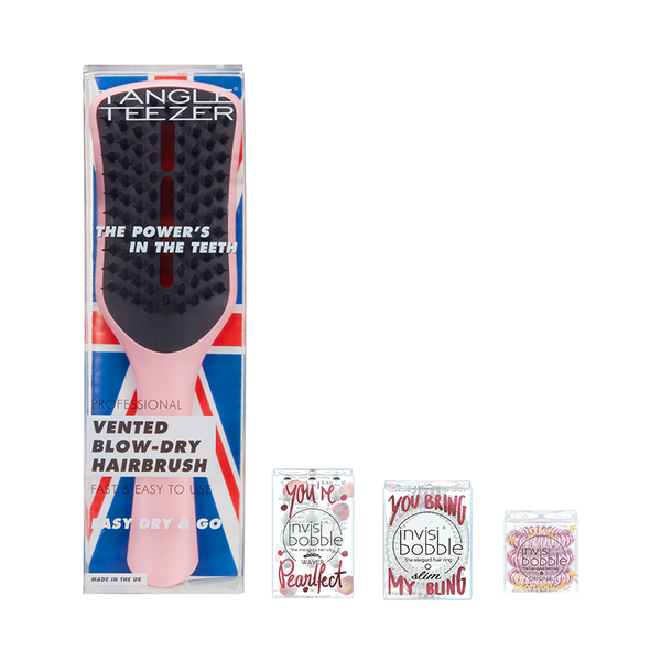 Tangle Teezer x invisibobble® – Big Gala Holiday Set