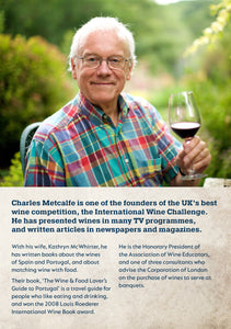 Spanish Wine Tasting with Charles Metcalfe. Thursday 11th March @ 7:30pm