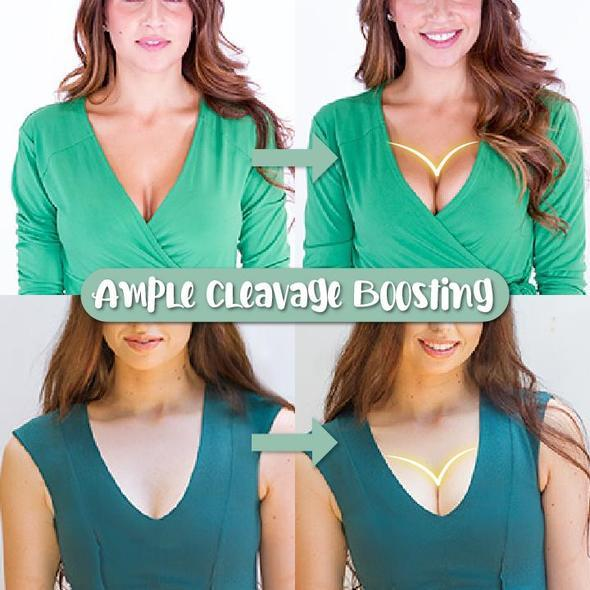 Front Closure Strapless Lifting Bra