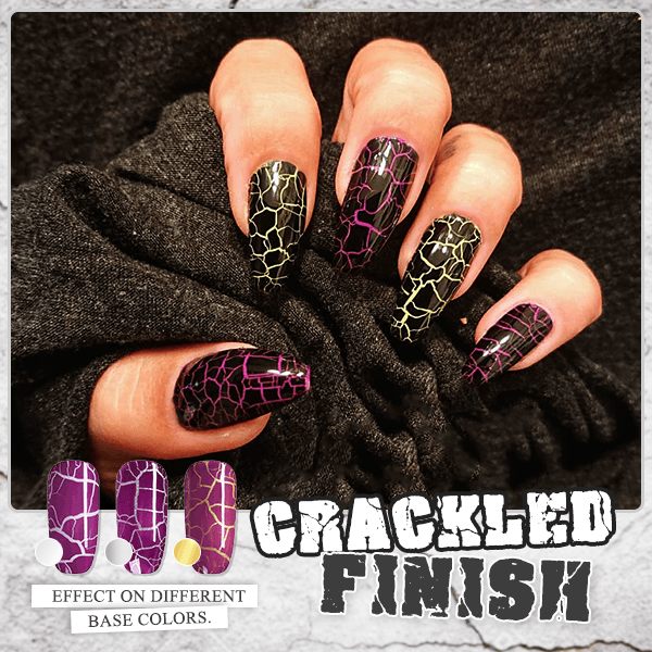 CrackleCrush Nail Polish