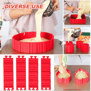 Cake Art Baking Mold (4pcs)