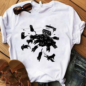 Ink Black Cat T-Shirt