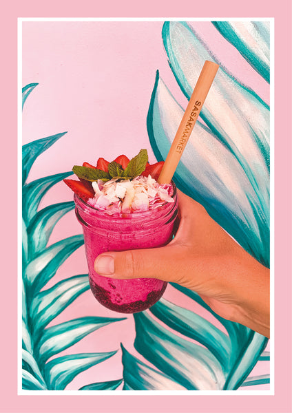 Pink Thursday smoothie