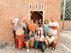 Sasak Team and the Rattan Artisan