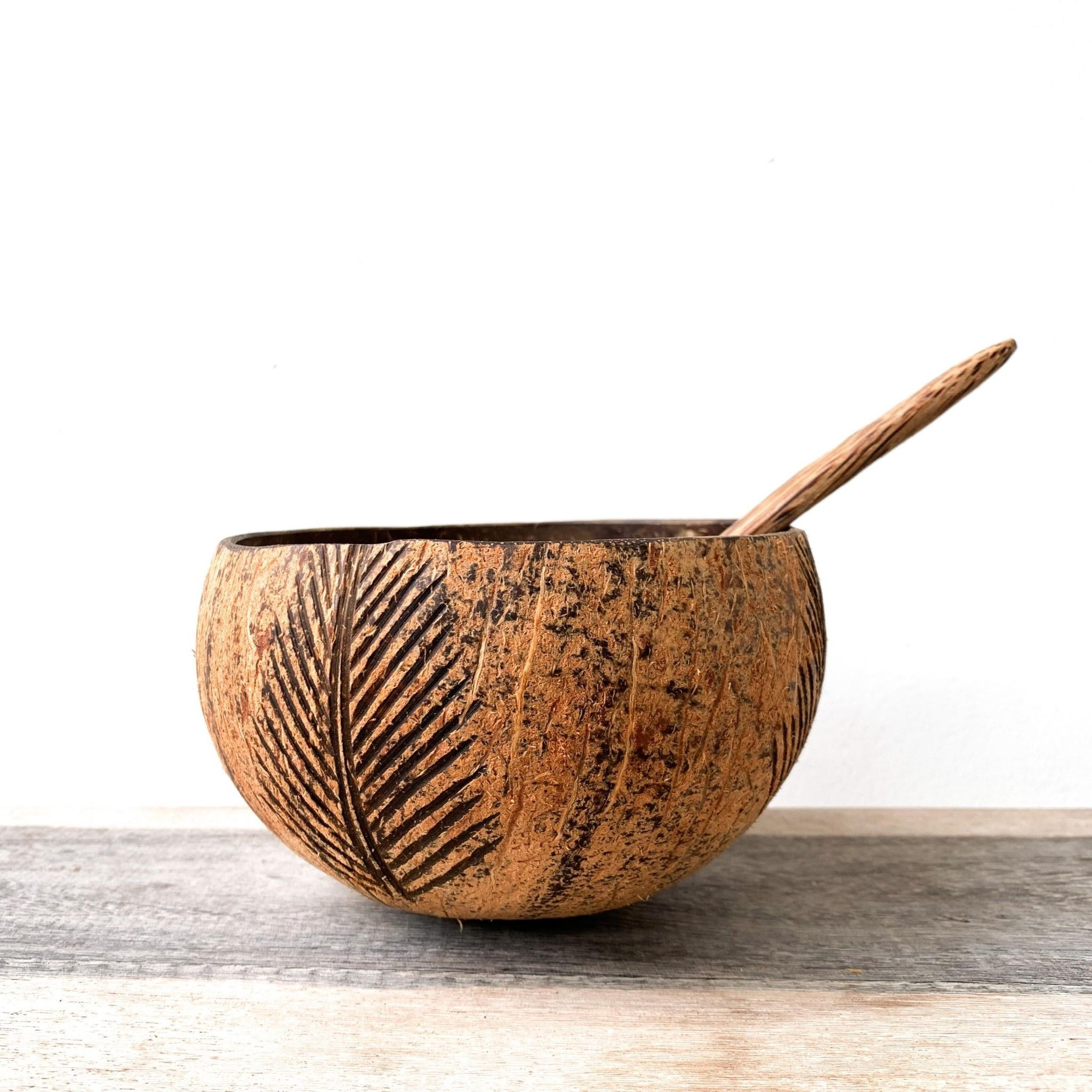 Coconut Bowl - Palm