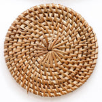 Load image into Gallery viewer, Rattan Glass Charger - Sasak Market