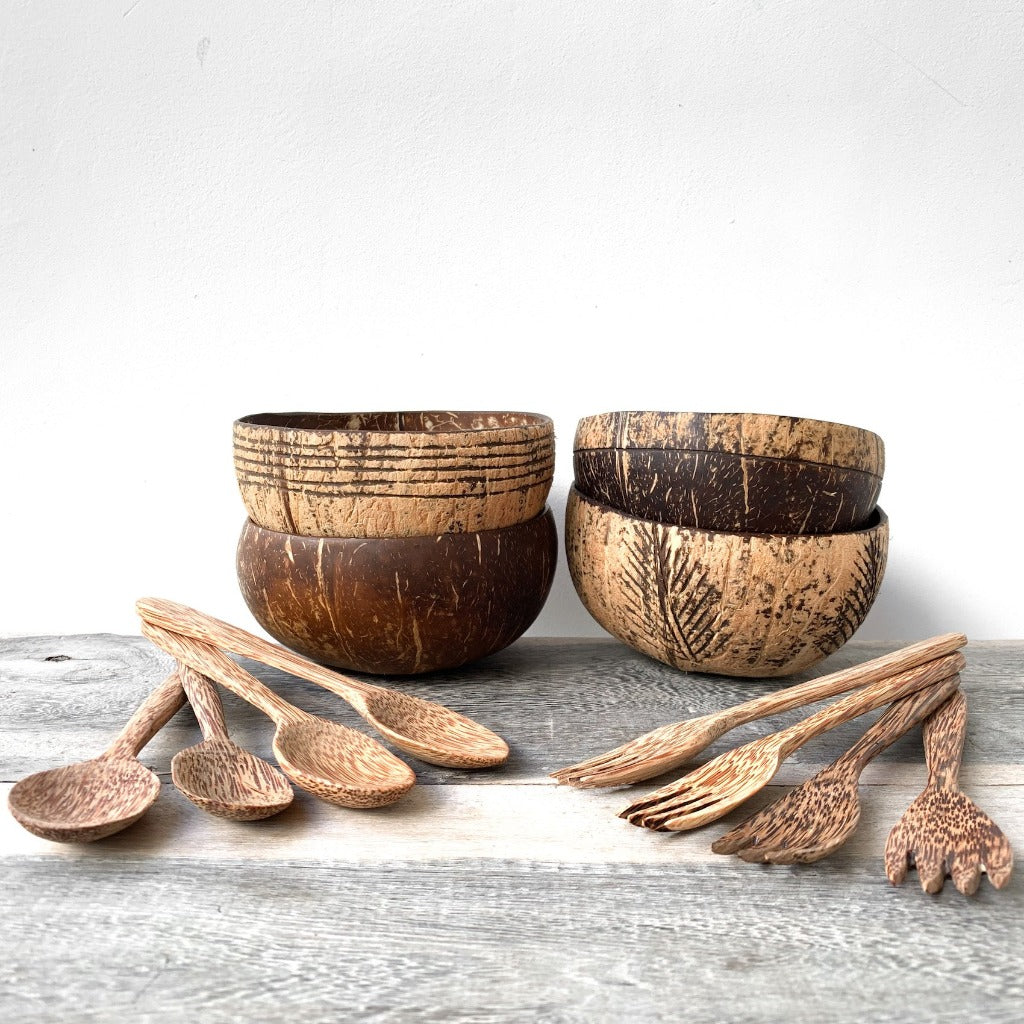 Coconut Bowl - Family Pack - Sasak Market