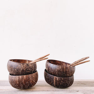 Coconut Bowl + Spoon - Sasak Market