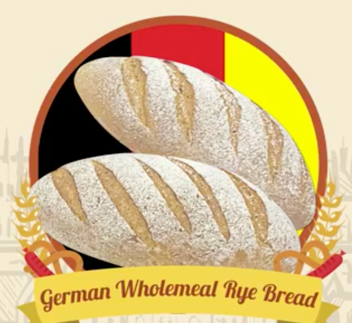 German Wholemeal Rye Bread