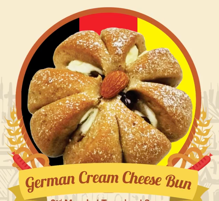 German Cream Cheese Bun