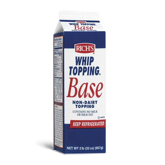 RICHS WHIP TOPPING BASE 907G