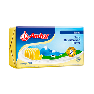 ANCHOR BUTTER SALTED 250G - Bake With Yen