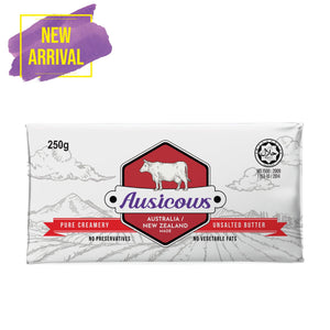 AUSICOWS BUTTER 250G (SALTED/UNSALTED)