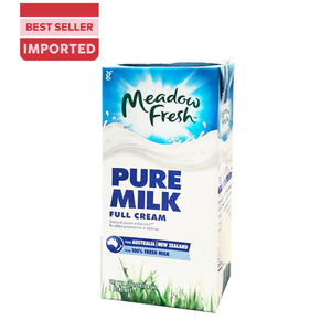 MEADOW FRESH UHT FULL CREAM MILK 1L - Bake With Yen