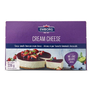 EMBORG CREAM CHEESE 226G
