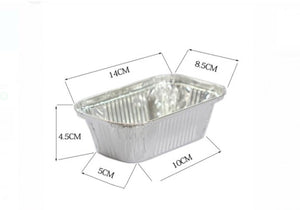 ALUMINIUM FOIL BAKING TRAY WITH LID (20 s)