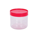 PLASTIC CONTAINER N4019PET RED 1s