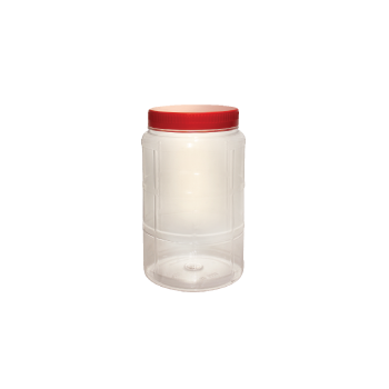 PLASTIC CONTAINER N4060 PET RED 1s