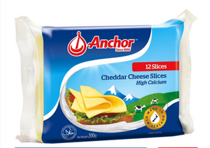 ANCHOR PLAIN CHEESE SLICE 12S - Bake With Yen
